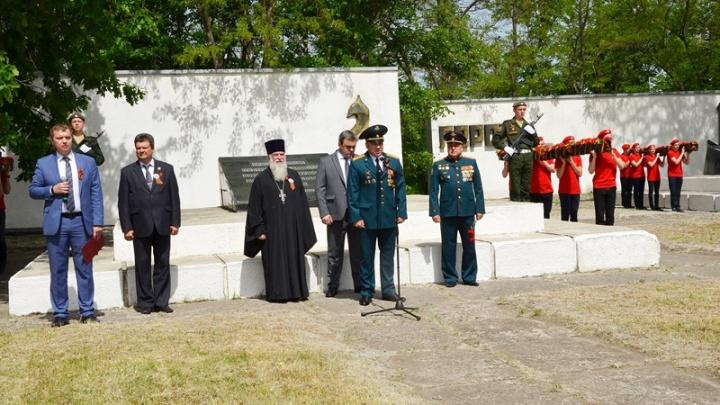 В Аксайском районе торжества в честь Дня Победы начались 8 мая