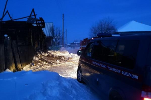 С прошлого воскресенья в Юргамышском районе произошло два пожара в частных домах