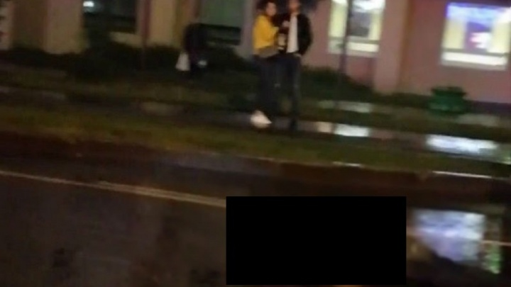 Ночью «Гелендваген» насмерть сбил пешехода у ТЦ «Магеллан»
