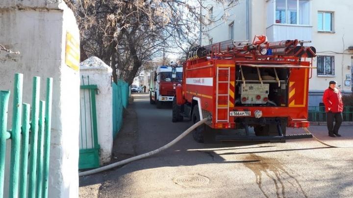 В Уфе из-за стиральной машины загорелся детский сад