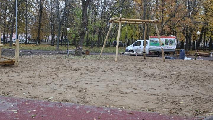 В Ярославле снесли горку из грязи. И не факт, что поставят новую