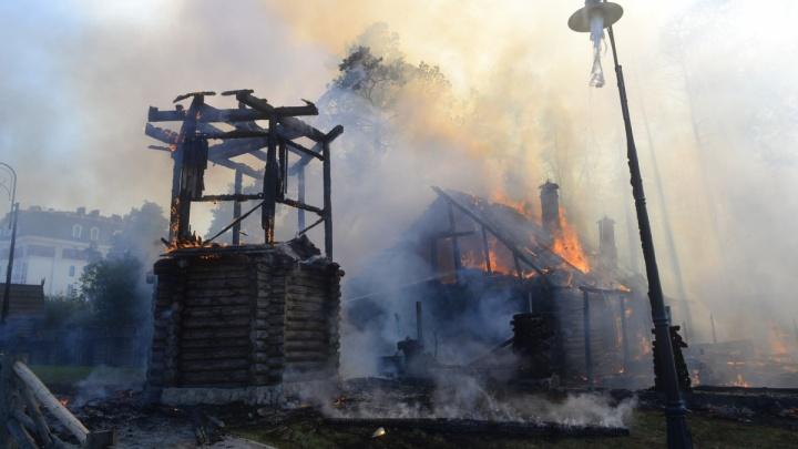 Дознаватели выяснили, из-за чего загорелись «Чапаевские бани» на Сибирском тракте