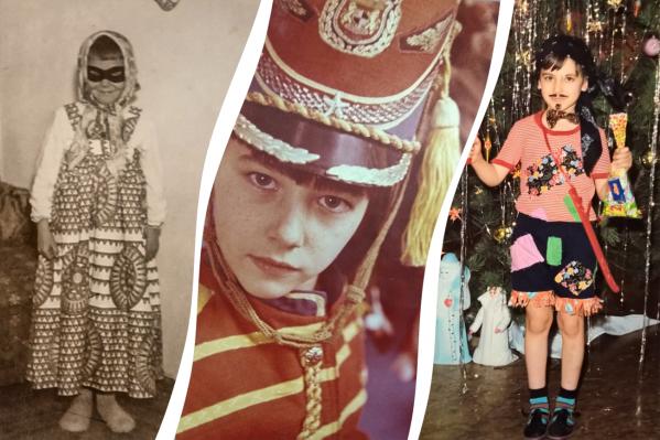 В советское время непременным атрибутом празднования Нового года считалось фото в карнавальном костюме, и желательно у елки
