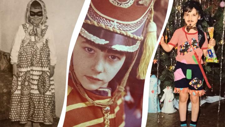 Девочка-бэтмен, гусар и пират: рассматриваем новогодние фото советских детей
