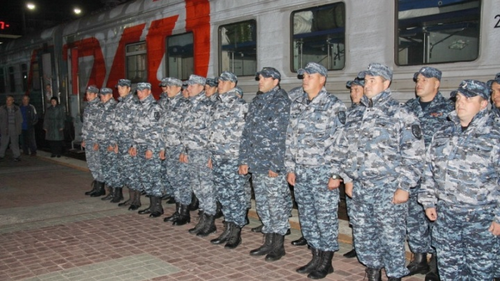 Новосибирские полицейские вернулись из долгой командировки на Северный Кавказ