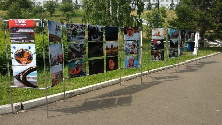 «Пекло в дыму»: смотрим, как проходит самый жаркий день в Красноярске