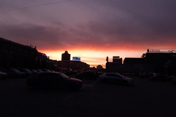 А вы успели вживую посмотреть на красоту заката?