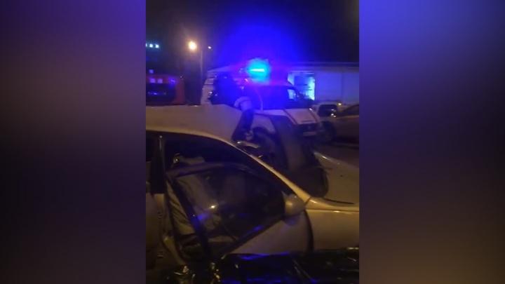 Водитель погиб, пассажирку зажало: челябинец на каршеринговом автомобиле устроил смертельное ДТП