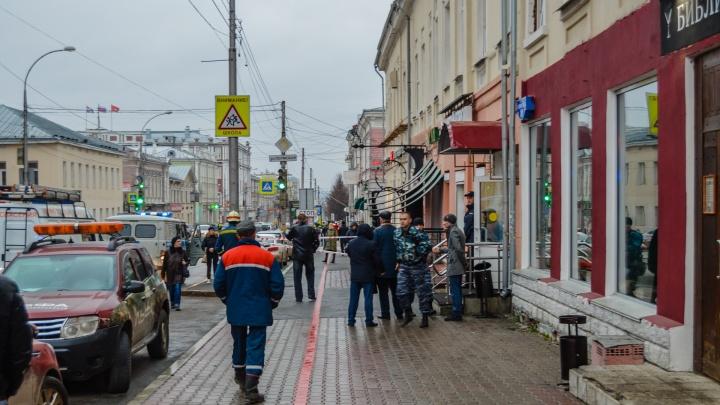 В Перми эвакуировали департамент общественной безопасности. Оказалось, за бомбу приняли аккумулятор