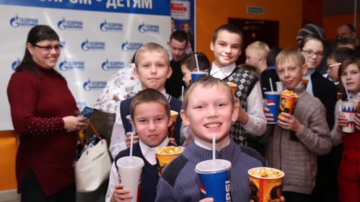 Компания «Газпром трансгаз Чайковский» организовала новогодний праздник для детворы