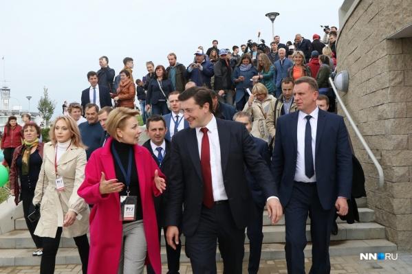 В День города и День России состоялось символическое открытие обновлённой набережной