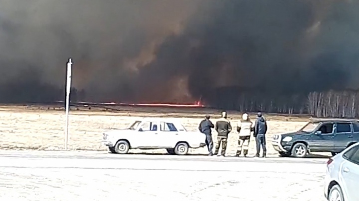 «Готовы эвакуировать людей»: на Южном Урале начали вводить режим ЧС из-за лесных пожаров
