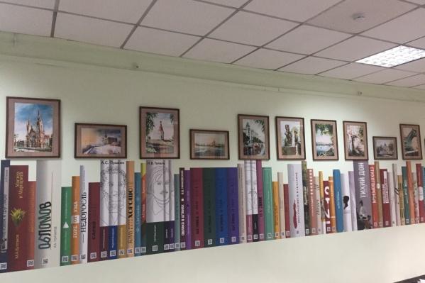Сейчас в электронной библиотеке около 60 книг