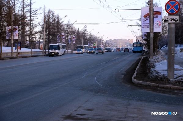 Улица Гагарина — одна из трёх космических улиц города