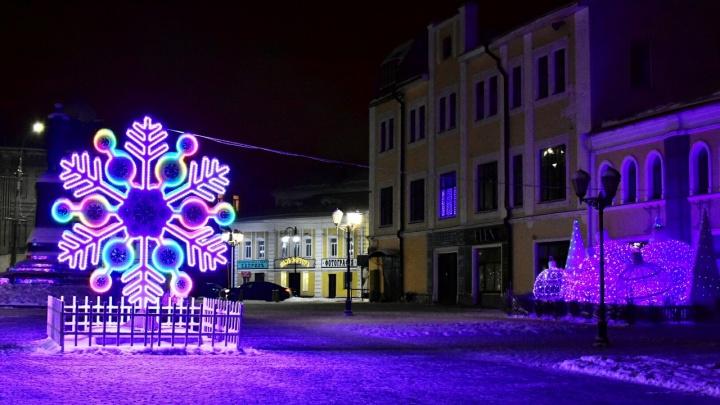 Живые ёлки по всему городу: как украсят Рыбинск на Новый год