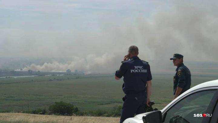 Риск природных пожаров сохранится в Ростовской области до 3 июля