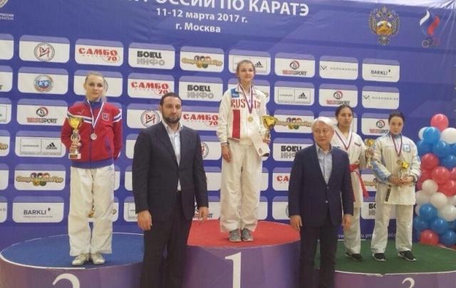 Уфимка завоевала Кубок России по карате