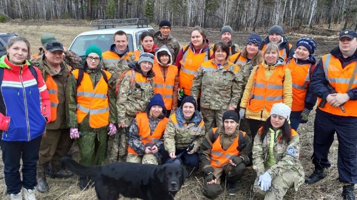 Волонтеры возобновили поиски красноярцев, пропавших летом в лесу
