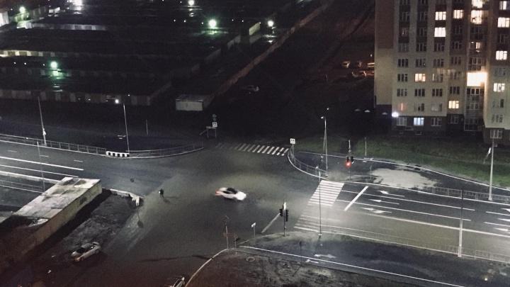 Ночью в Тюмени открыли проезд по улице Николая Федорова
