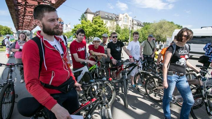 Новосибирские велосипедисты стартовали с пробегом по новому маршруту