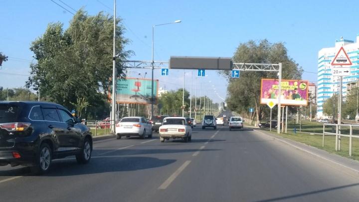 Представители АСУДД объяснили, почему не работает табло на Ново-Садовой