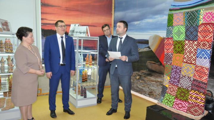 Открыли варежку: в Новодвинске появился новый музей с вязанными изделиями