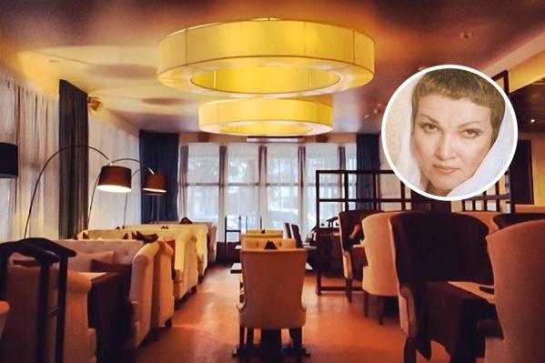 Госпожа Муратова владела известным в городе рестораном