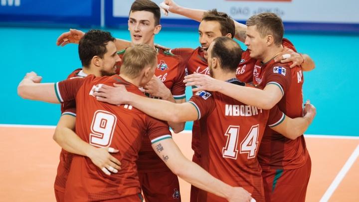 Волейбол: новосибирский «Локомотив» прервал серию поражений