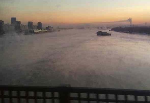 Общественник показал, как разлетается по городу дым от трубы ТЭЦ-1
