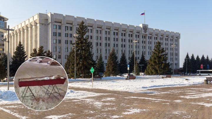 Следователи отказались возбуждать уголовное дело по инциденту с гробом у самарского правительства