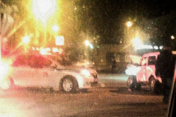 Авария случилась рядом с «Гиппопо»