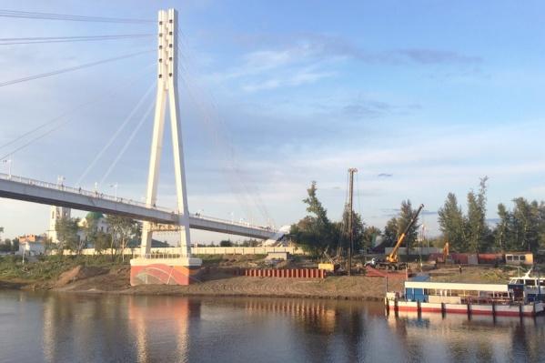 На благоустройство второго берега выделили полмиллиарда рублей