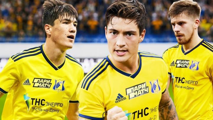 ФК «Ростов» продлил контракты с тремя лидерами команды