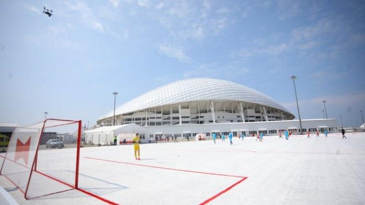 В Волгоград привезут футбольное поле из 50 тысяч пивных стаканов