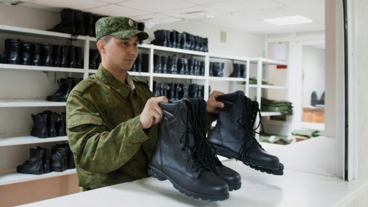 Первые призывники из Башкирии отправились на службу