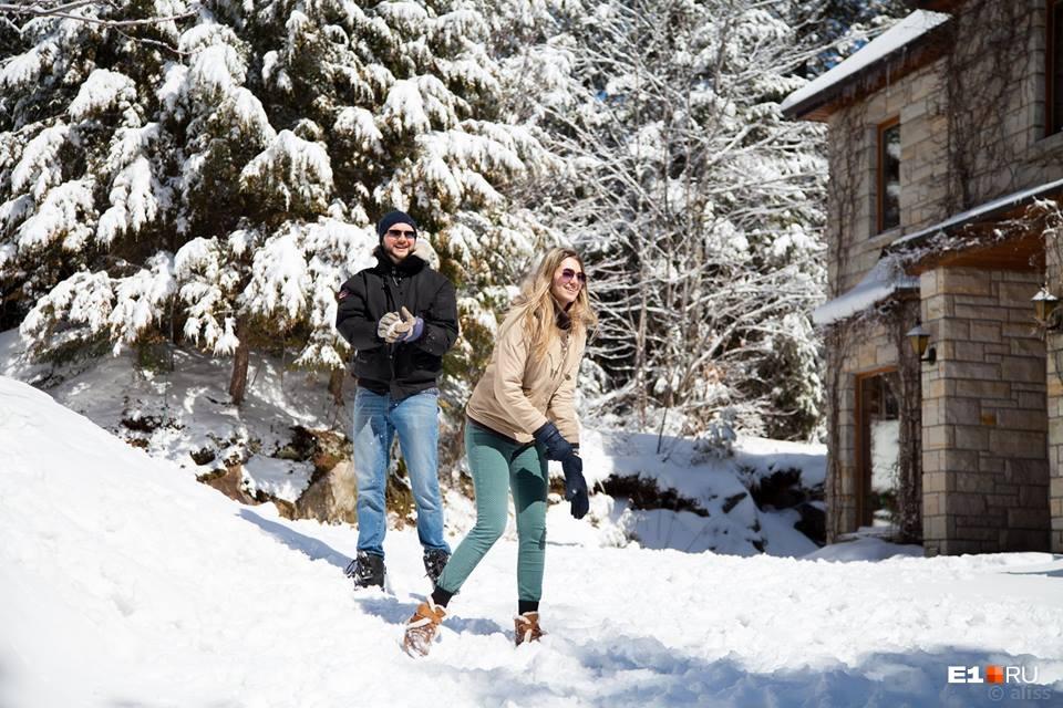 Софья рассказывает, что зима в Канаде такая же суровая, как на Урале