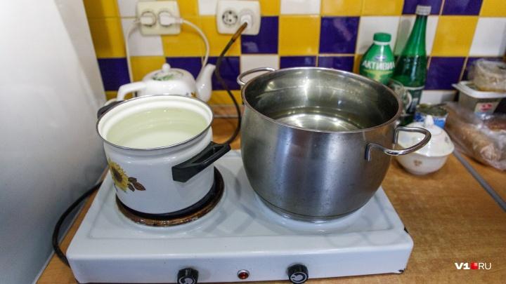 В Волгограде сотня домов во второй раз за лето простится с горячей водой: список отключений