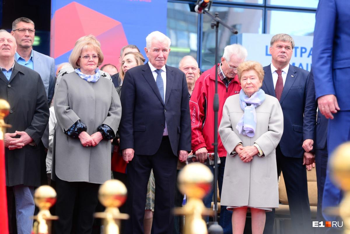 На открытие приехала вдова первого президента России Наина Ельцина