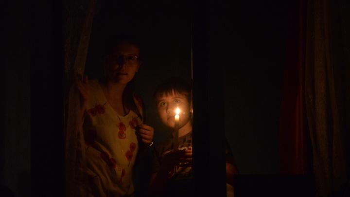 В Екатеринбурге из-за аварии два микрорайона остались без света