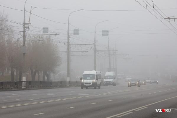 Туман и гололедица стали причиной аварий на трассах Волгоградской области