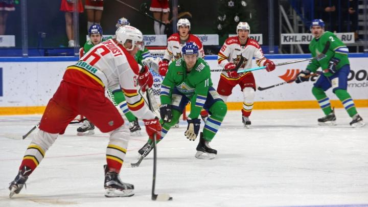 «Салават Юлаев» вышел в плей-офф КХЛ 2018–2019