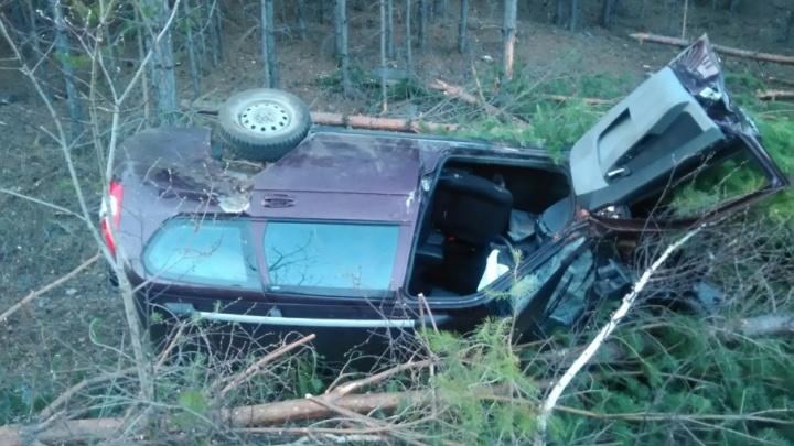 В Башкирии пьяный лихач устроил аварию: пострадало двое