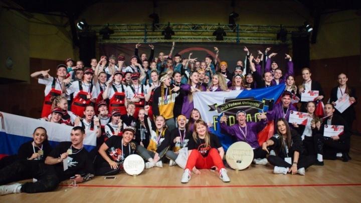 Курганские танцоры стали лучшими на чемпионате Европы в Чехии