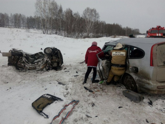 ДТП произошло в 10:30 на трассе Новосибирск – Барнаул