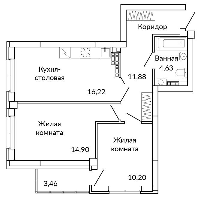 В таких квартирах будет уютно даже большим семьям