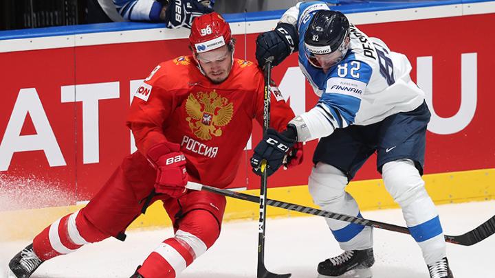 Поборемся за третье место: сборная России проиграла Финляндии в 1/2 чемпионата мира по хоккею