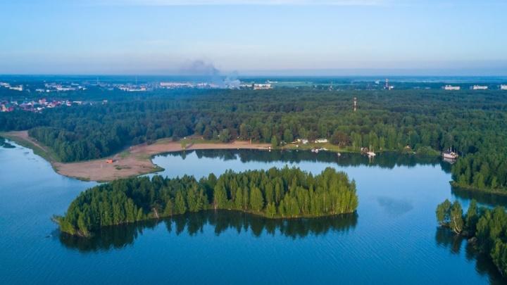 На Андреевском озере утонул парень