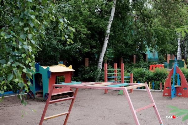 Инцидент произошел на территории детского сада