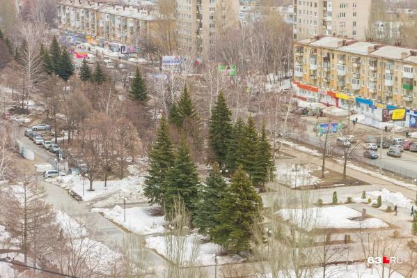 Сквер на Стара-Загоре оказался в списке