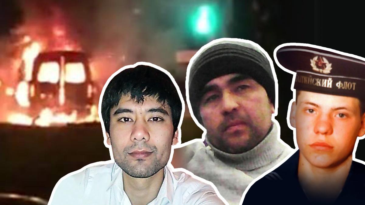 Предполагается, чтоАлишер Каимов,Махмуд Джумаев и Альмир Абитов (слева направо) погибли при взрыве «Газели» 1 января. Но официально об их судьбе до сих пор ничего не сообщили